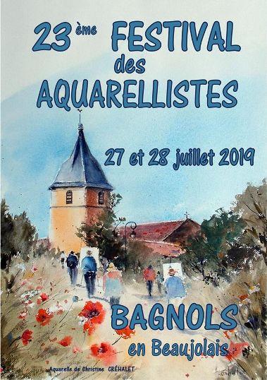 aquarellistes de Bagnols